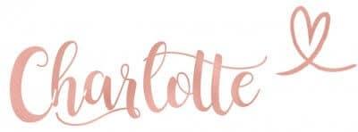 Handtekening Charlotte